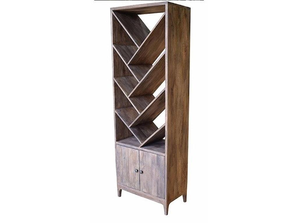 Crestview Collection Accent FurnitureMango Wood 2 Door Etagere
