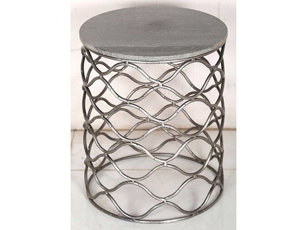 Crestview Collection Accent FurnitureSolid Iron Accent Table