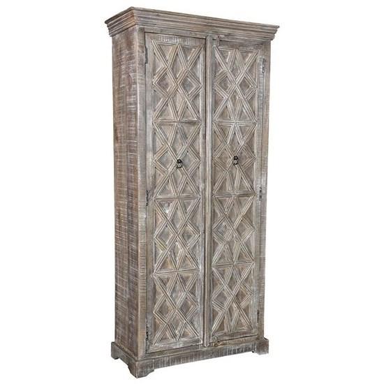Crestview Collection Accent FurnitureMango Wood Cabinet