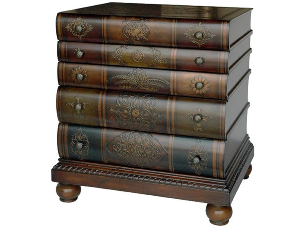 Crestview Collection Accent FurnitureLibrary 3-Drawer Chest