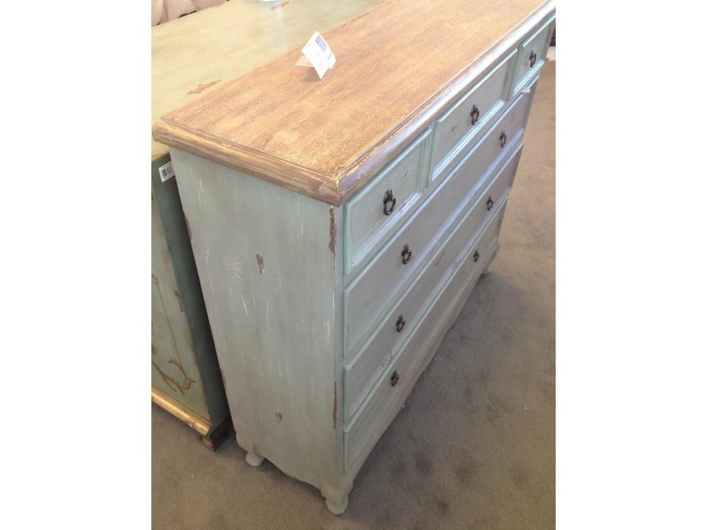 Crestview Collection Accent FurnitureShoreview 6-Drawer Cabinet