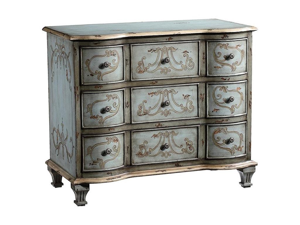 Crestview Collection Accent FurnitureGarland 3-Drawer Chest