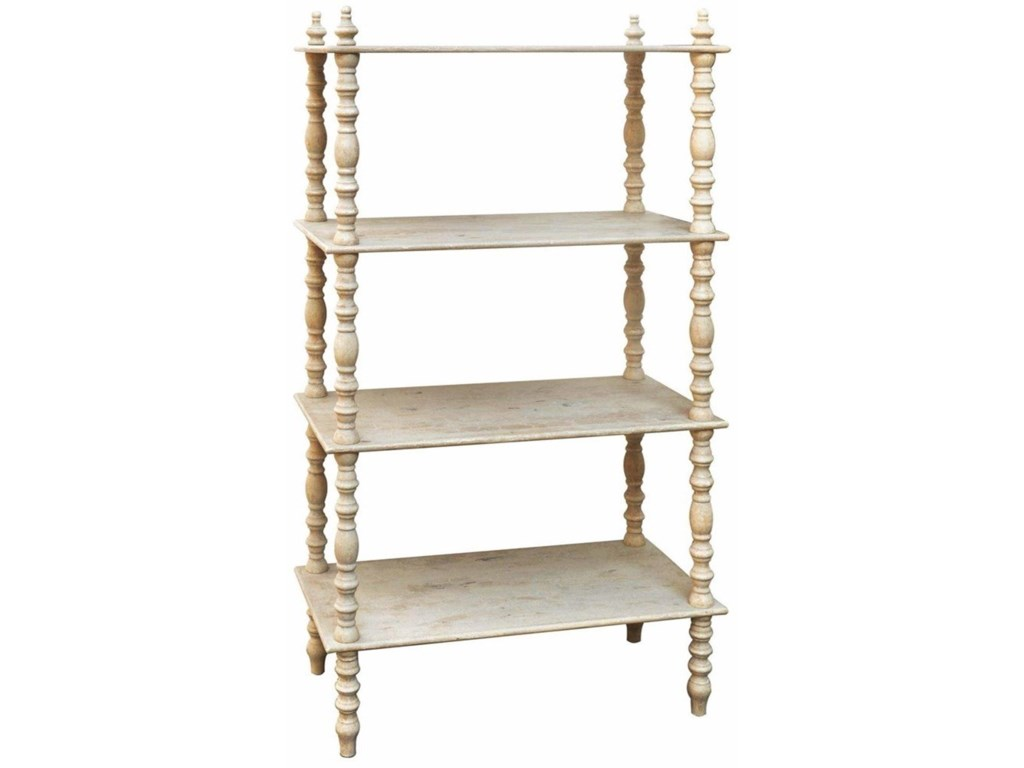 Crestview Collection Accent FurnitureLyndsay Antiqued Etagere