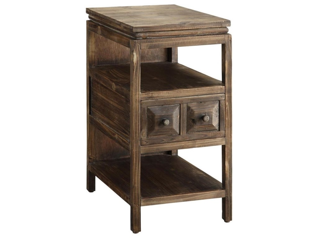 Crestview Collection Accent FurnitureGrand Junction Chairside Table