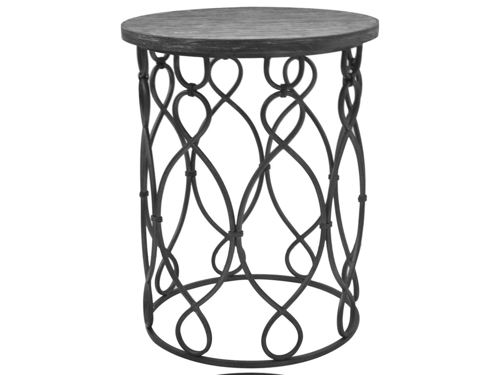 Crestview Collection Accent FurnitureGrand Junction Wood & Metal Table
