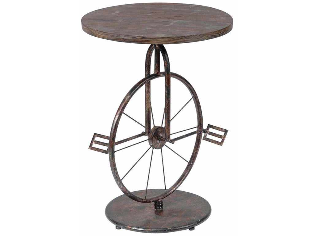 Crestview Collection Accent FurnitureSierra Bicycle Accent Table