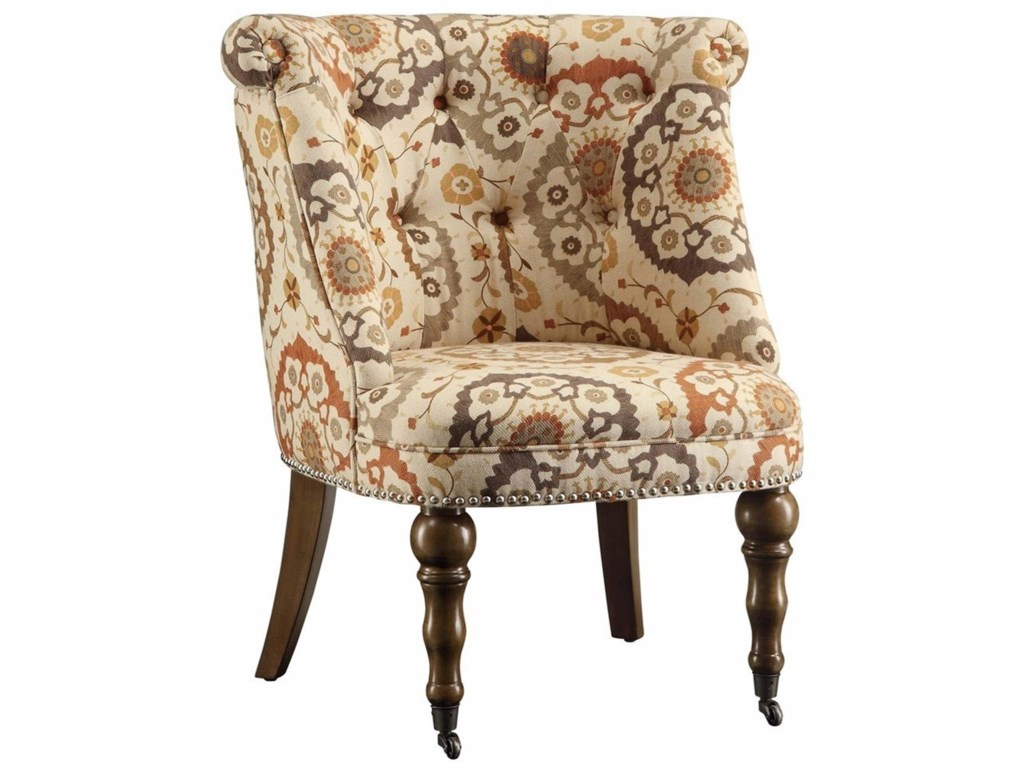 Crestview Collection Accent FurnitureHutchison Pattern Fabric Chair