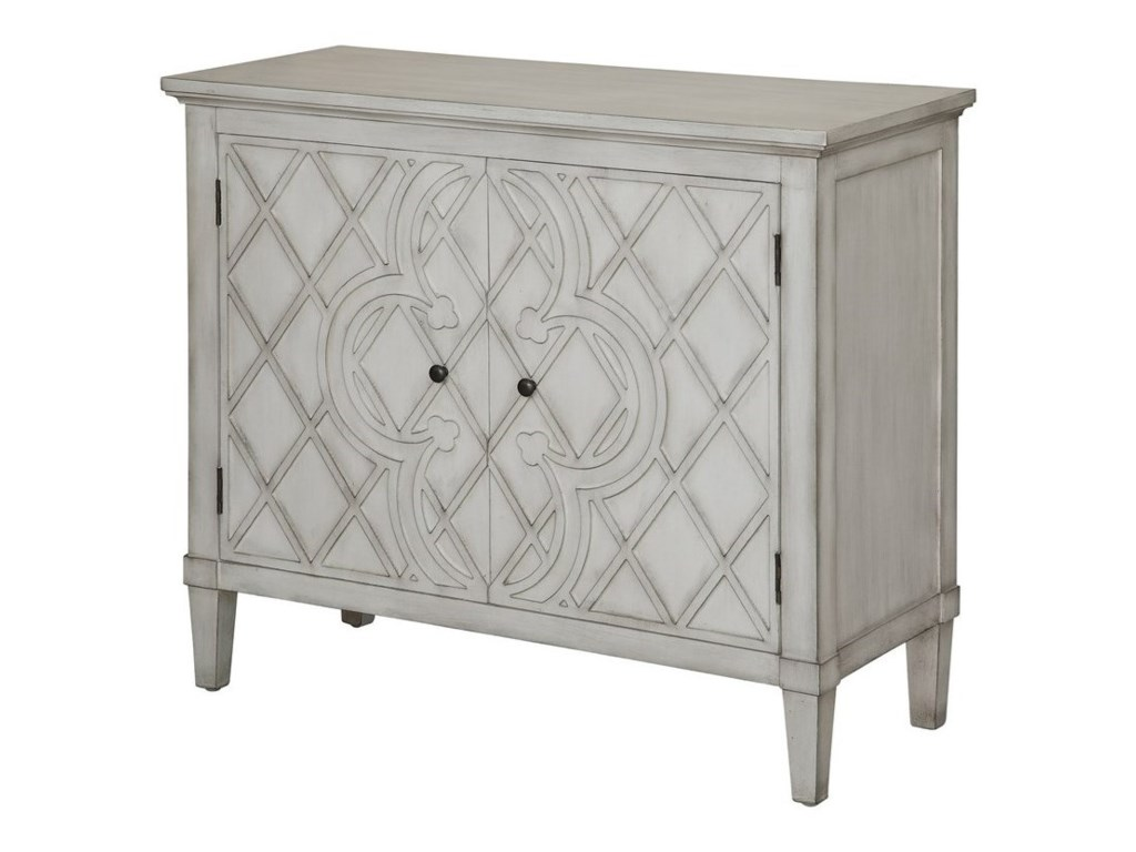Crestview Collection Accent FurnitureBerkshire Scalloped Top Accent Table