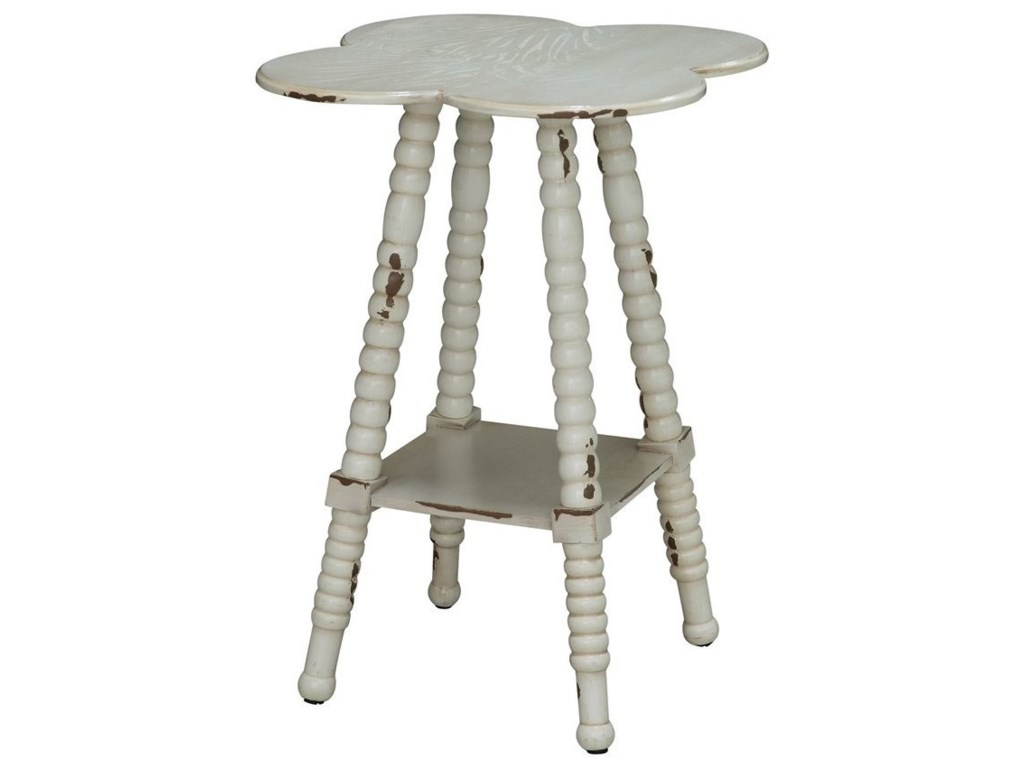 Crestview Collection Accent FurnitureClover Shaped Accent Table