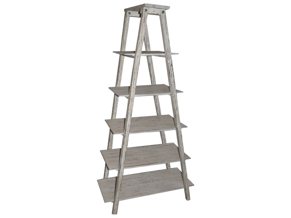 Crestview Collection Accent FurnitureShelby Ladder Etagere