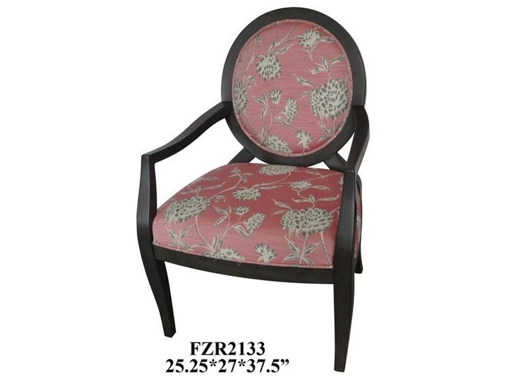 Crestview Collection Accent FurnitureIsabella Accent Chair