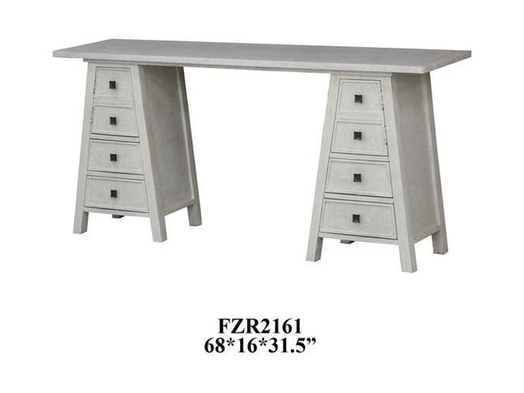 Crestview Collection Accent FurnitureAbbington Brushed Frame Console