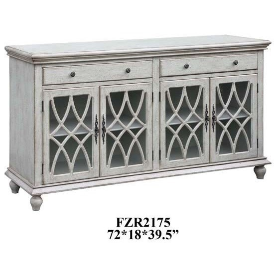 Superb Crestview Collection Accent Furniture Paxton Pale Grey Sideboard