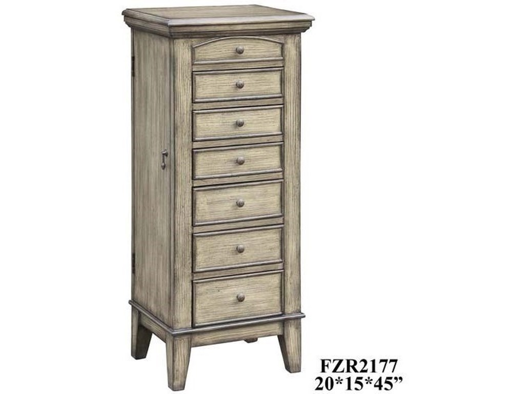 Crestview Collection Accent FurnitureMeredith Jewelry Armoire