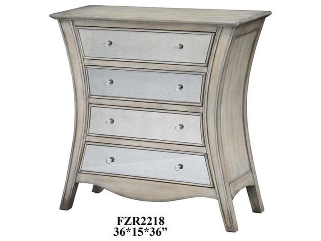 Crestview Collection Accent FurnitureDanielle Curved Chest