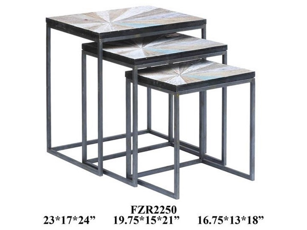 Crestview Collection Accent FurnitureCedar Point Nested Tables