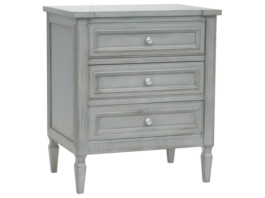 Crestview Collection Accent FurnitureWeatherford English Grey Chest