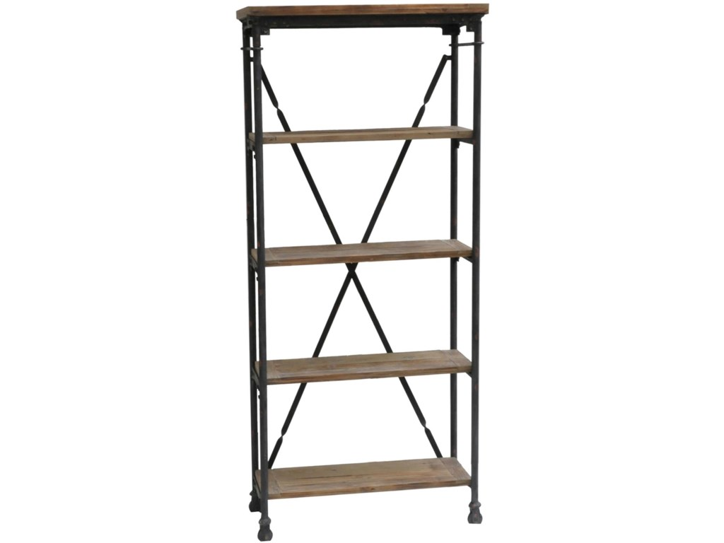 Crestview Collection Accent FurnitureIndustrial Bookcase