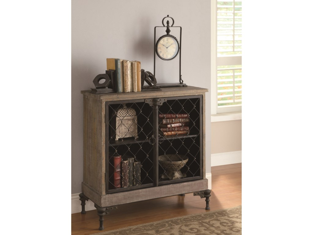 Crestview Collection Accent FurnitureOrleans 2-Door Cabinet