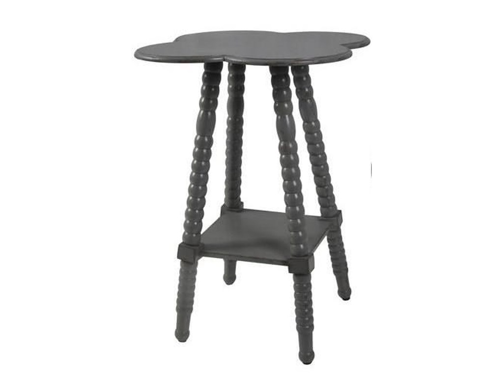 Crestview Collection Accent FurnitureGrey End Table