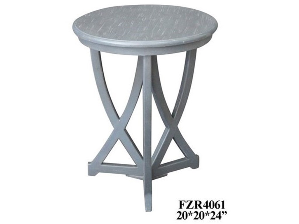 Crestview Collection Accent FurnitureShaped Accent Table