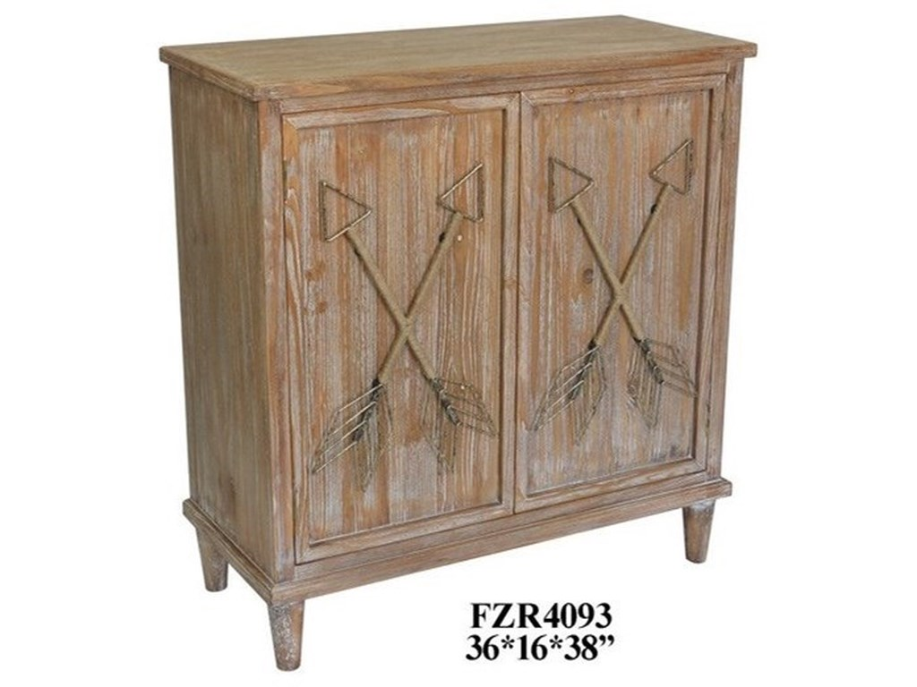 Crestview Collection Accent FurnitureWood 2 Door Cabinet