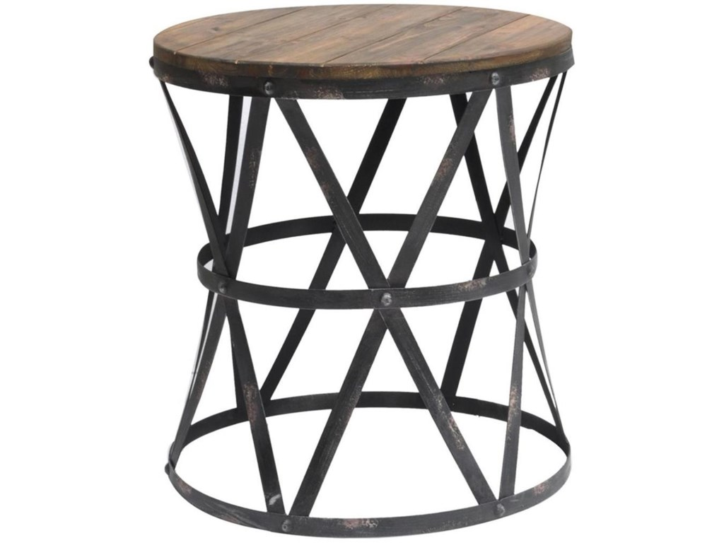 Crestview Collection Accent FurnitureHeraldine Side Table