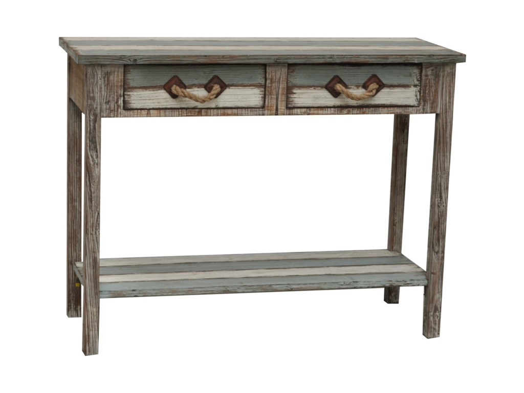 Crestview Collection Accent FurnitureNantucket Wood Console