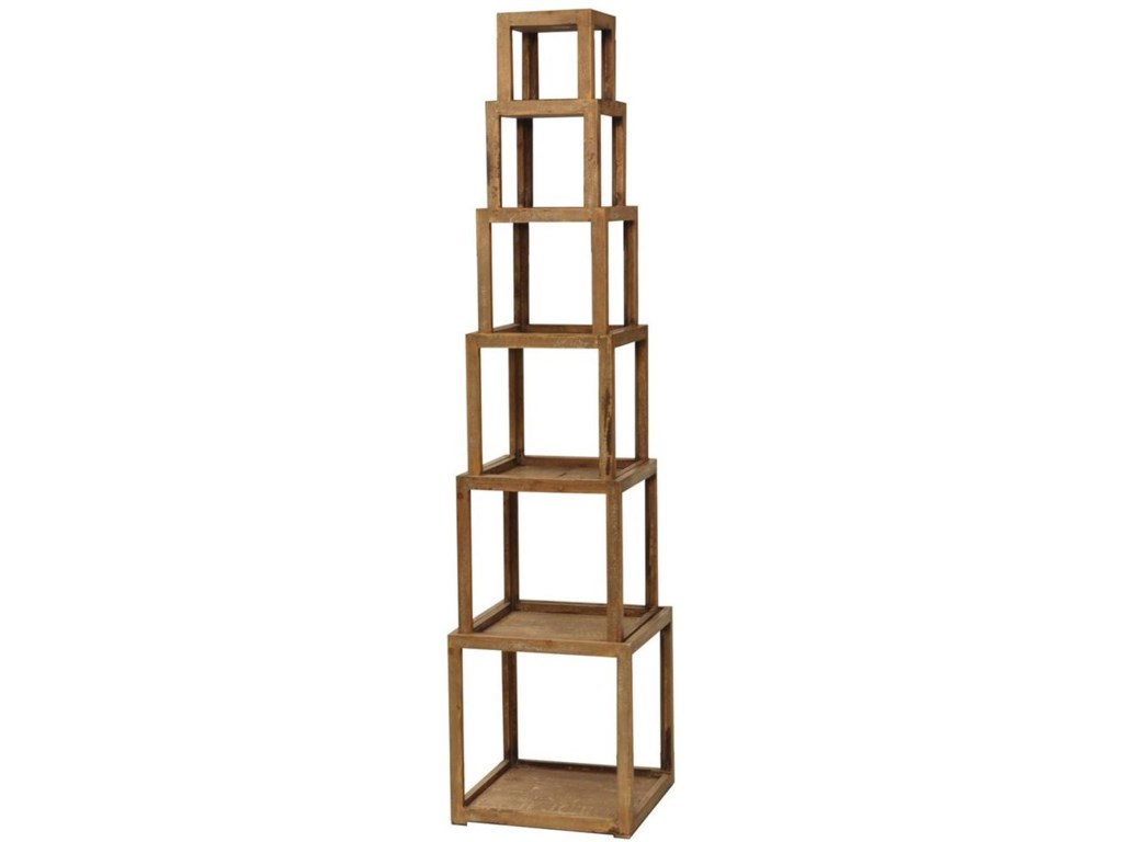 Crestview Collection Accent FurnitureCheyenne Stackable Bookcase