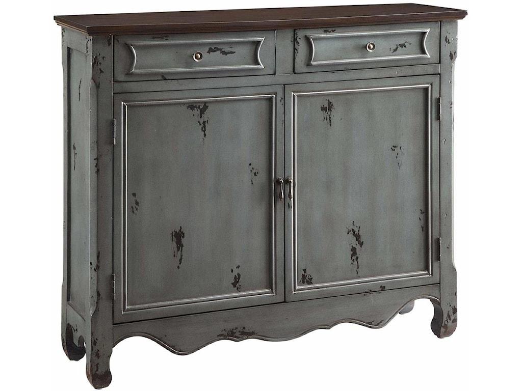 Crestview Collection Accent FurnitureGreystone 2-Door 2-Drawer Cupboard