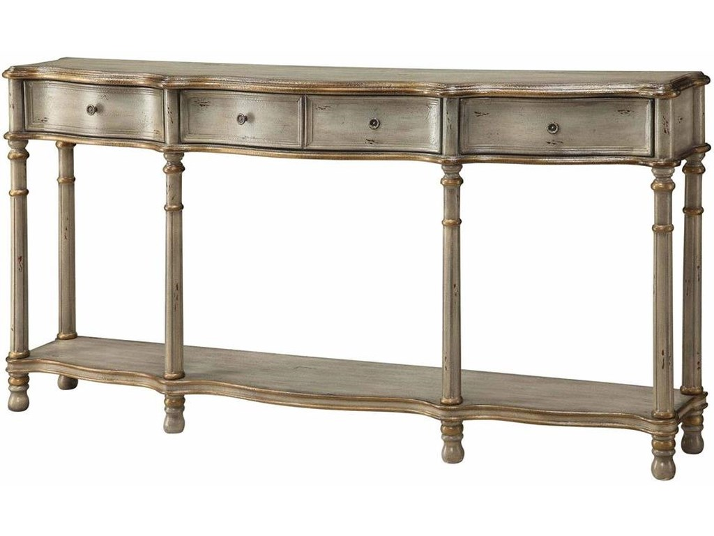 Crestview Collection Accent FurnitureVictoria 3-Drawer Console Table