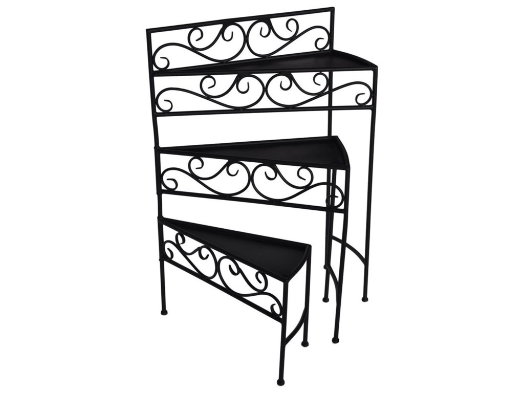 Crestview Collection Accent FurnitureCascade Shelf