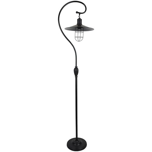 Crestview Collection Lighting Harbor Side Floor Lamp