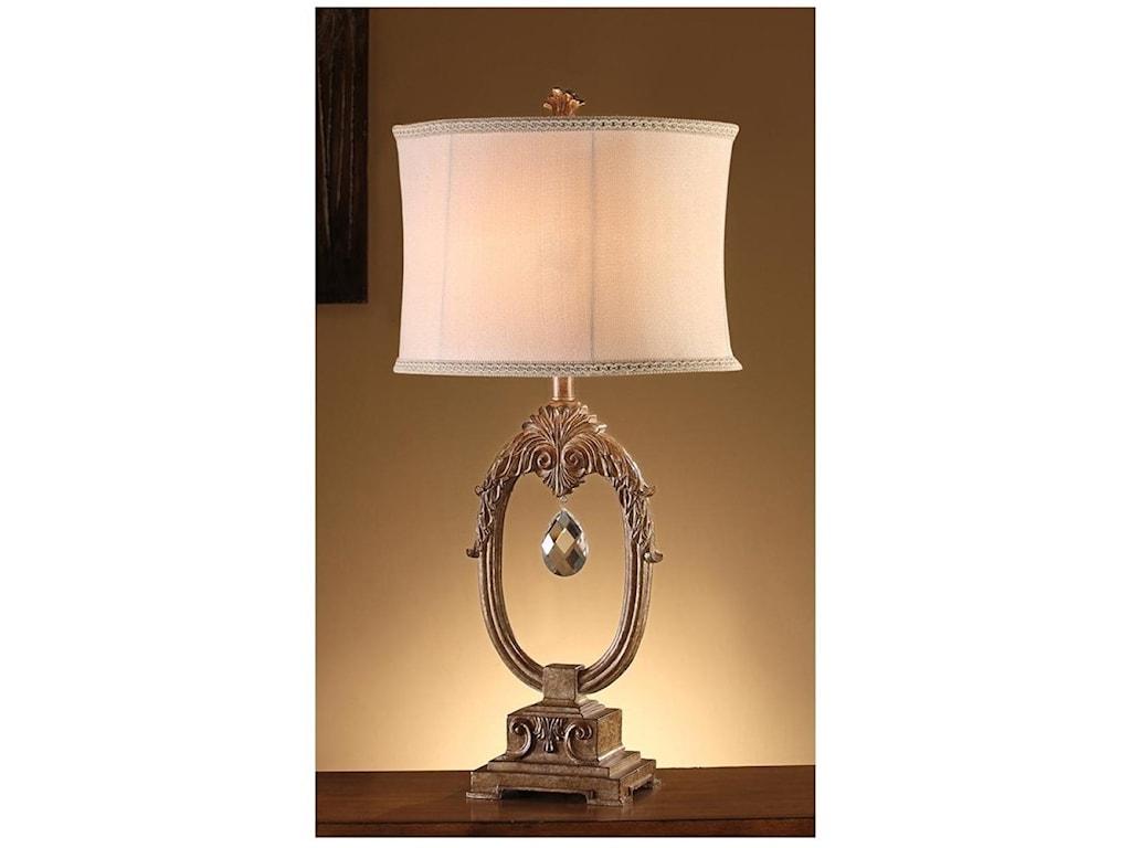 Crestview Collection LightingLeda Table Lamp