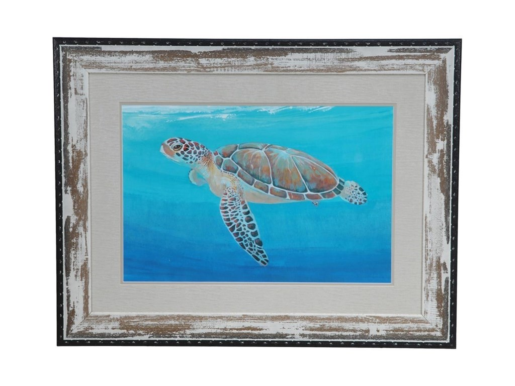 Crestview Collection Prints and PaintingsOcean Sea Turtle 2