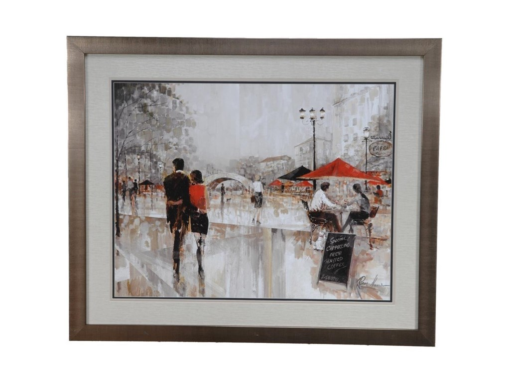 Crestview Collection Prints and PaintingsRiverwalk Charm