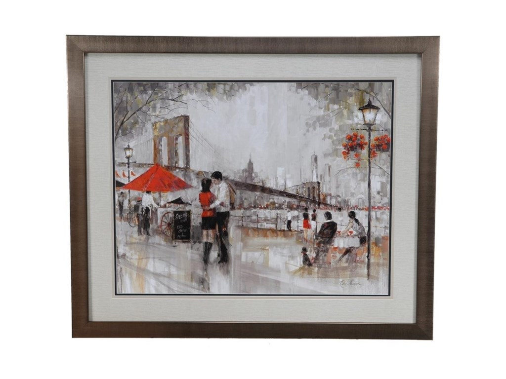 Crestview Collection Prints and PaintingsNew York Romance