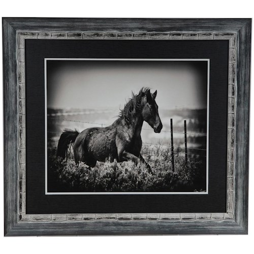 Crestview Collection Prints and Paintings Running Horse