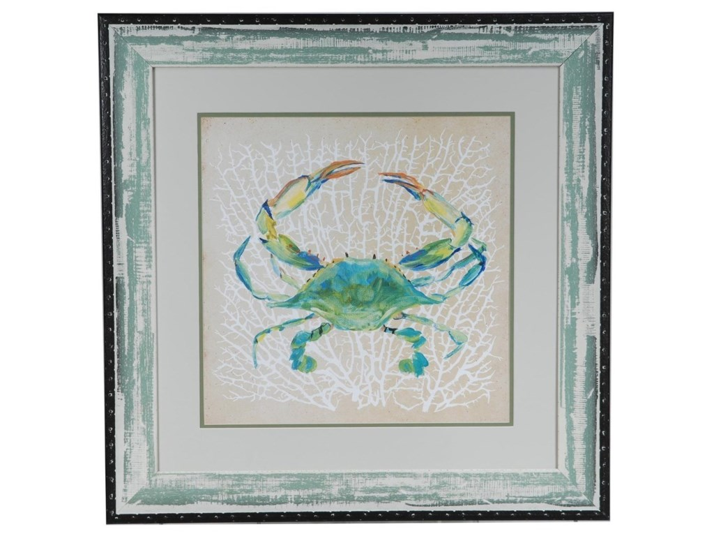 Crestview Collection Prints and PaintingsSealife Crab