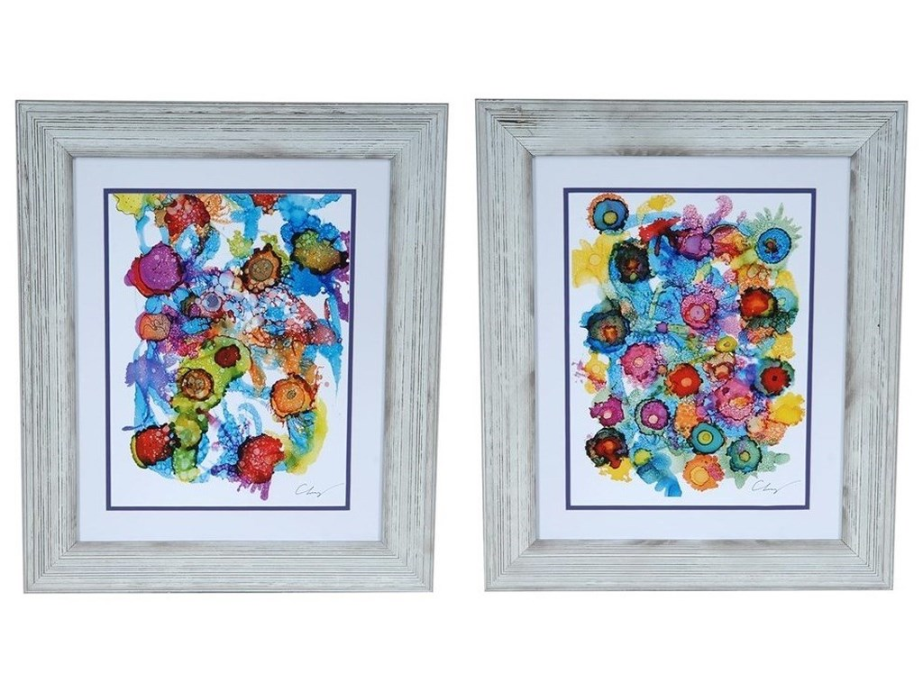 Crestview Collection Prints and PaintingsCoastal Spectrum 1&2 Set 2