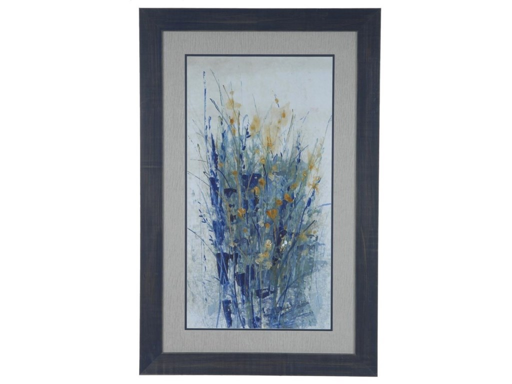 Crestview Collection Prints and PaintingsIndigo Floral 2