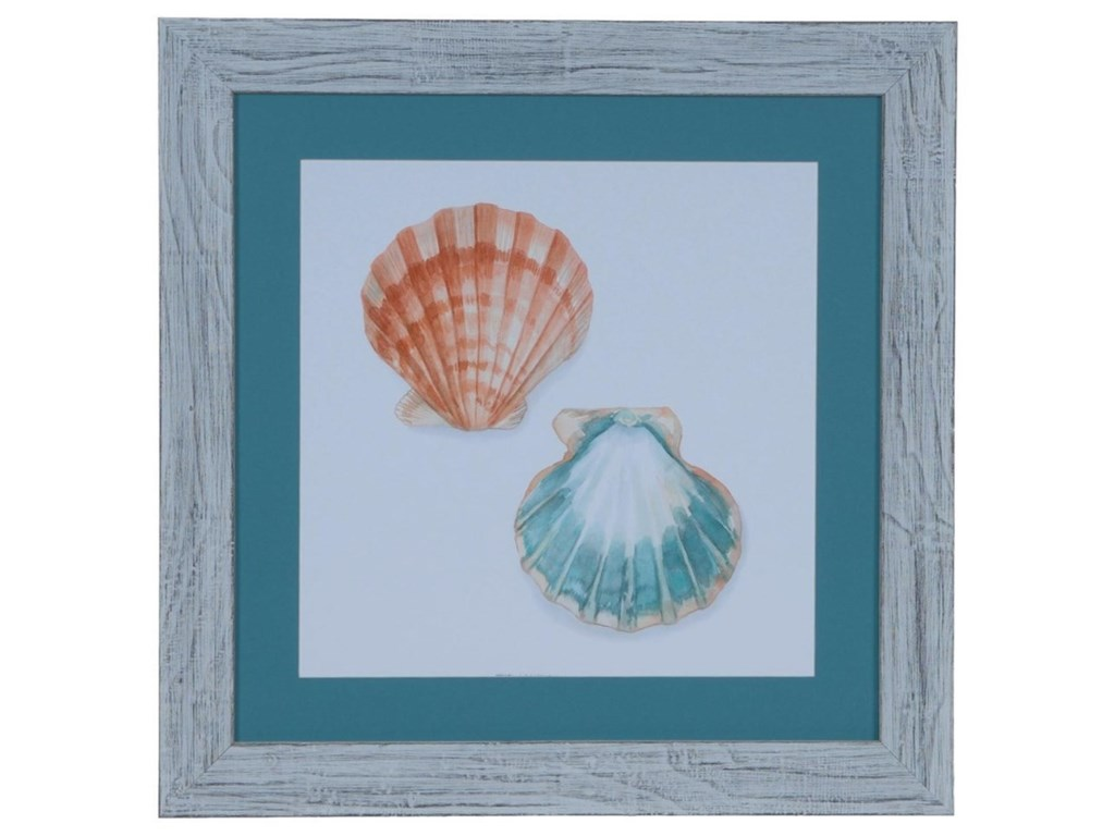 Crestview Collection Prints and PaintingsWatercolor Shells 1