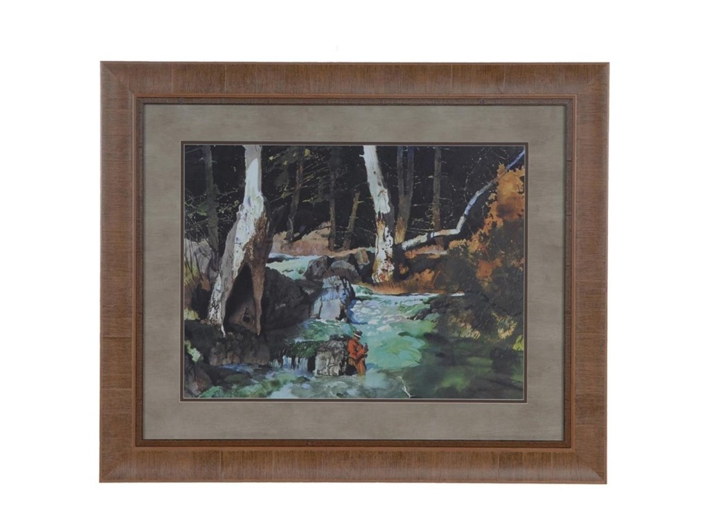 Crestview Collection Prints and PaintingsFishing Retreat 2