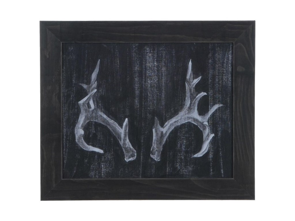 Crestview Collection Prints and PaintingsRustic Antlers 2