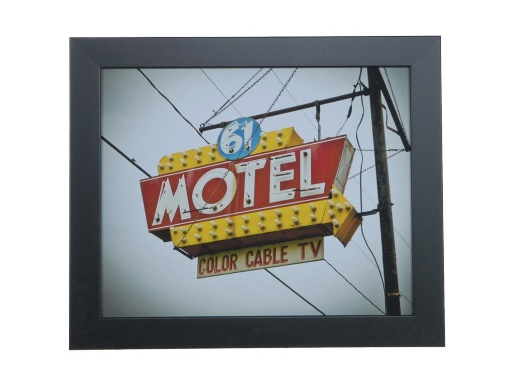 Crestview Collection Prints and PaintingsVintage Motel 6