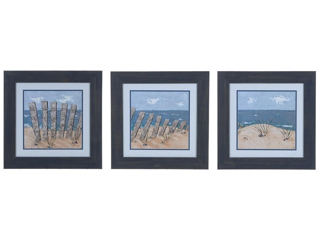 Crestview Collection Prints and PaintingsBeach Scene 1,2, & 3 (Set Of 3)