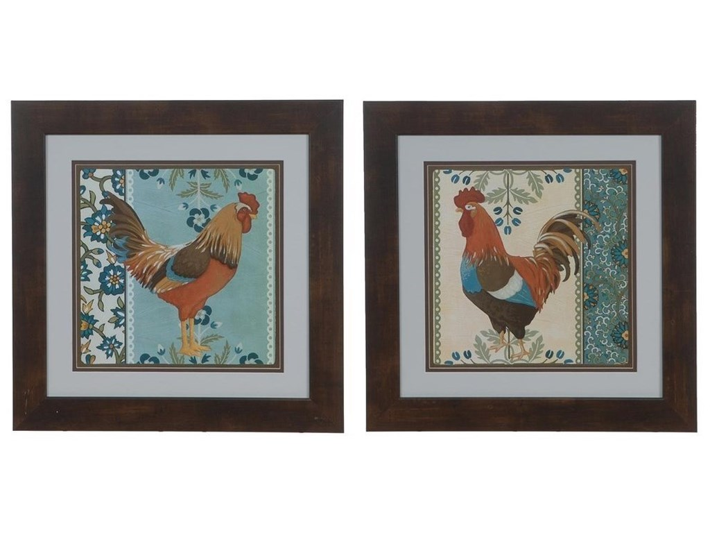 Crestview Collection Prints and PaintingsCottage Rooster 4 & 5 (Set)