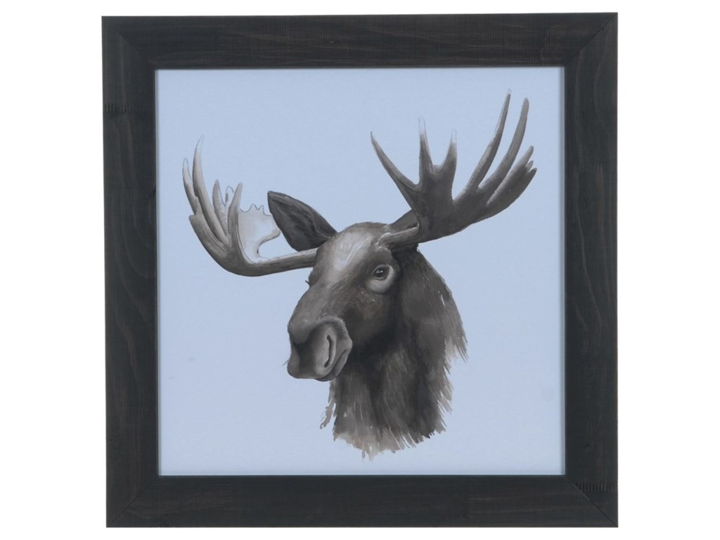 Crestview Collection Prints and PaintingsAnimal Study (Moose)