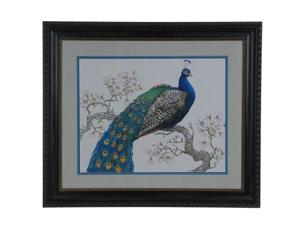 Crestview Collection Prints and PaintingsPeacock Blossoms 1
