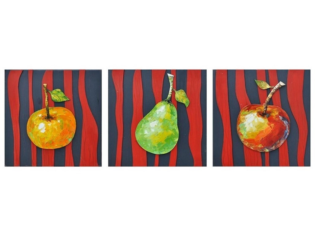 Crestview Collection Prints and PaintingsFruit Stripes